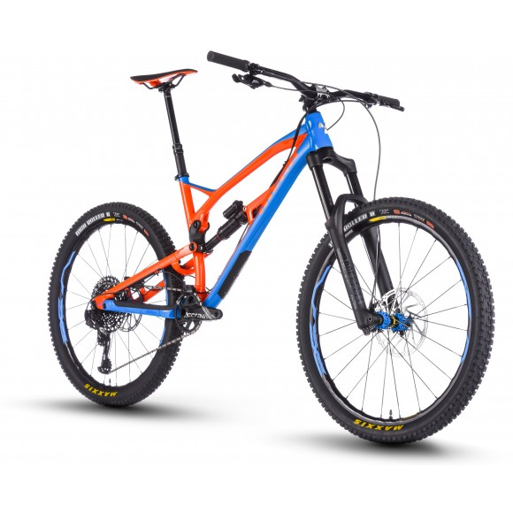 Bicicleta Nukeproof Mega 27.5 Pro Blue Orange 2018