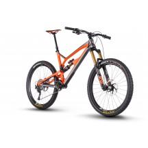 "Bicicleta Nukeproof Mega 27.5"" Factory Carbon Gray Orange 2018"
