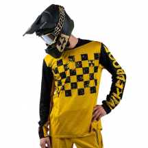 Tricou Bicicleta Nukeproof Kashmir Black Yellow
