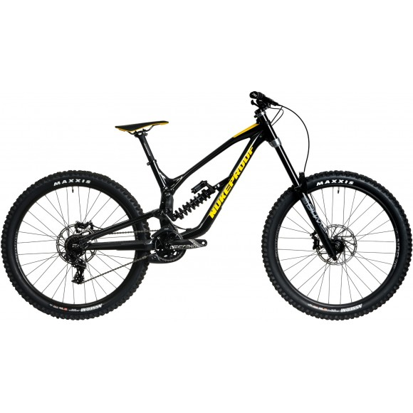 Bicicleta Nukeproof Dissent 275 Comp Black Yellow 2020