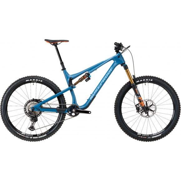 Bicicleta Nukeproof Reactor 275 Factory Carbon Bottle Blue 2020