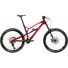 Bicicleta Nukeproof Mega 275 Elite Carbon Burgundy Grey 2020