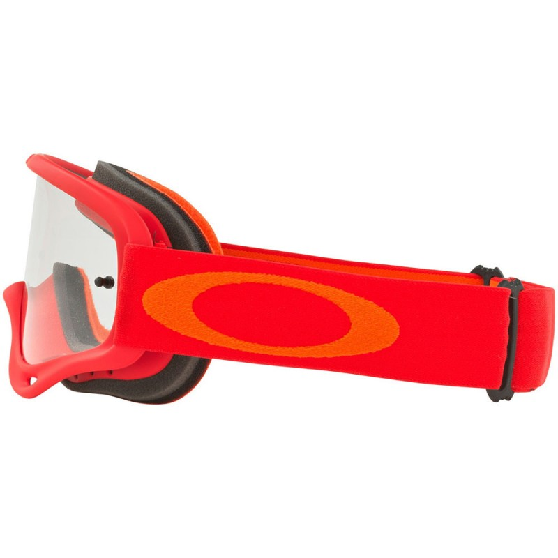 ochelari oakley o frame mx red orange bikehouse ro