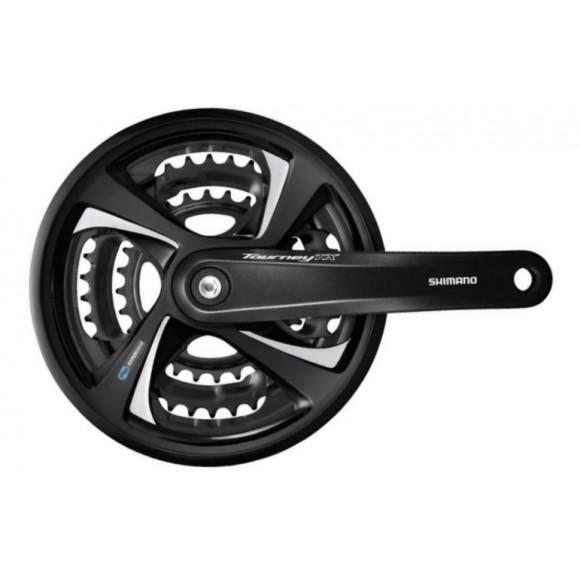 Angrenaj Bicicleta Shimano Tourney FC-TX801