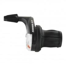 Manete schimbator Sram X7 Twister-Gripshift 8x3