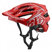 Casca Bicicleta Troy Lee Designs A2 Mips Pinstripe 2 Red