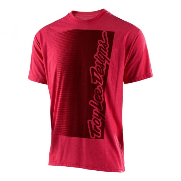 Tricou Troy Lee Designs Halfway Red