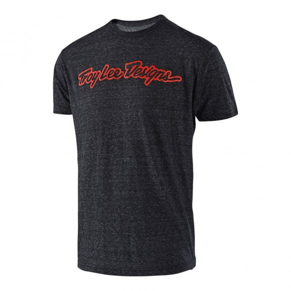 Tricou Troy Lee Designs Signature Onix Red