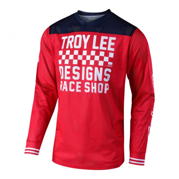 Tricou Bicicleta Troy Lee Designs Gp Air Raceshop Red