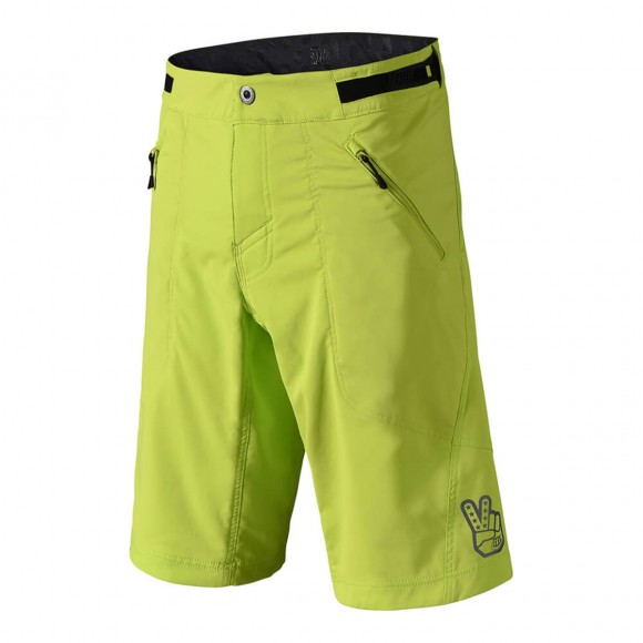 Pantaloni Scurti Bicicleta Troy Lee Designs Skyline Lime 2018