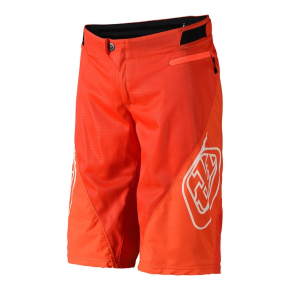 Pantaloni Scurti Bicicleta Troy Lee Designs Sprint Orange