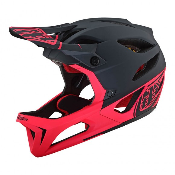 Casca Bicicleta Troy Lee Designs Stage Black Pink 2019