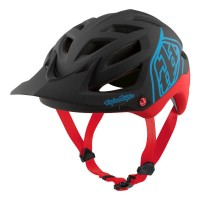 Casca Bicicleta Troy Lee Designs A1 MIPS Classic Black Red