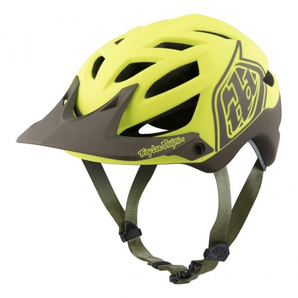 Casca Bicicleta Troy Lee Designs A1 MIPS Classic Yellow Black
