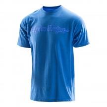 Tricou Troy Lee Designs Signature Tee Blue