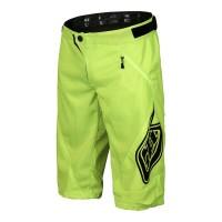 Pantaloni Scurti Bicicleta Troy Lee Designs Sprint Flo Yellow 2017