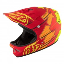 Casca Bicicleta Troy Lee Designs D2 Fusion Red