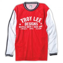 Tricou Bicicleta Troy Lee Designs Super Retro Red