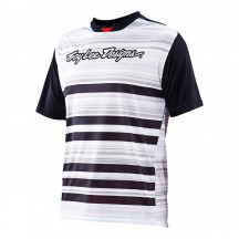 Tricou Bicicleta Troy Lee Designs Skyline Divided Blk/Wht