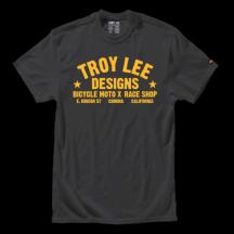 Tricou Troy Lee Designs Race Shop Smoke