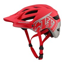 Casca Bicicleta Troy Lee Designs A1 MIPS Classic Red Silver