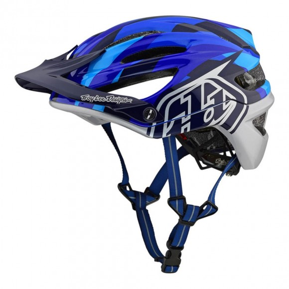 Casca Bicicleta Troy Lee Designs A2 Mips Jet Blue 2020