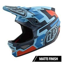 Casca Bicicleta Troy Lee Designs D3 Fiberlite Speedcode Blue