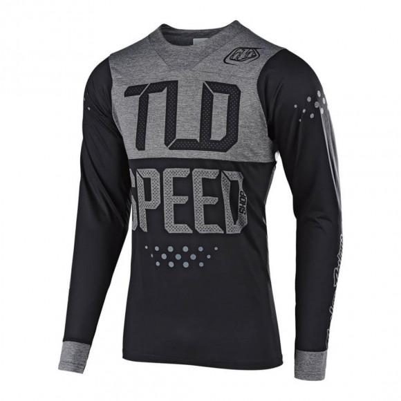 Tricou Bicicleta Troy Lee Designs Skyline Black Gray
