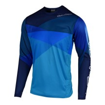 Tricou Bicicleta Troy Lee Designs Sprint Jet Ocean Blue