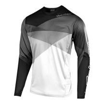Tricou Bicicleta Troy Lee Designs Sprint Jet White Gray