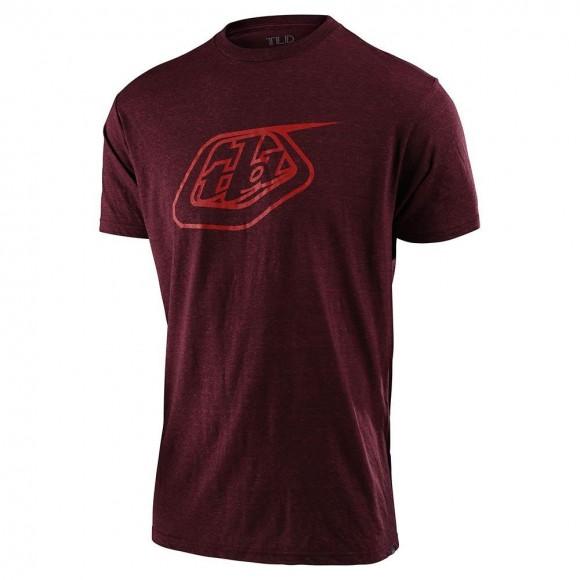 Tricou Troy Lee Designs Logo Tee Sangria 2021