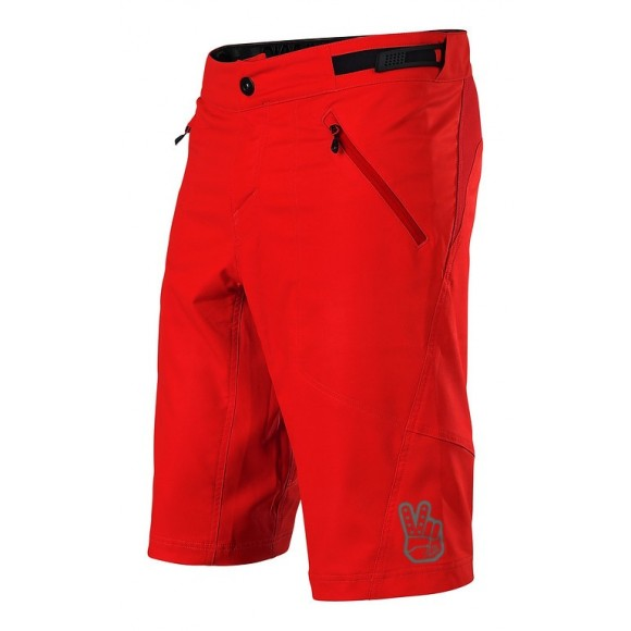 Pantaloni Scurti Bicicleta Troy Lee Designs Skyline Shell Red