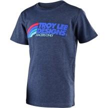 Tricou Troy Lee Designs Velo Midnight Blue