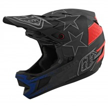 Casca Bicicleta Troy Lee Designs D4 Mips Carbon Freedom 2.0 Black / Red 2020