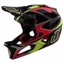 Casca Bicicleta Troy Lee Designs Stage Mips Ropo Pink / Yellow 2020
