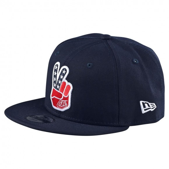 Sapca Troy Lee Designs Peace Sign Navy 2020