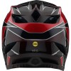 Casca Bicicleta Troy Lee Designs D4 Mips Composite Graph Red 2021