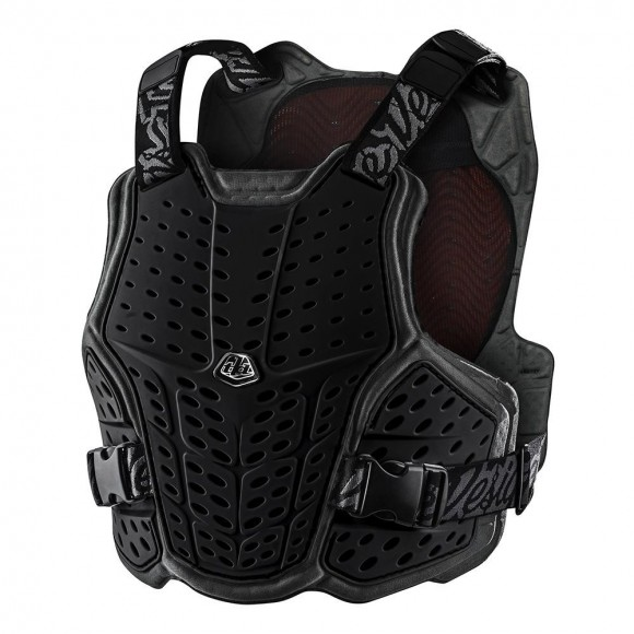 Armura Troy Lee Designs Rockfight Ce Flex Chest Protector Solid Black