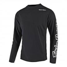 Tricou Bicicleta Troy Lee Designs Sprint Solid Black 2021