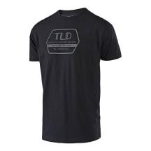 Tricou Troy Lee Designs Factory Black