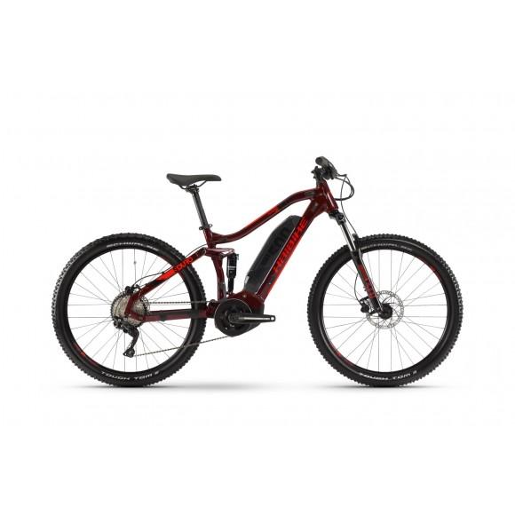 e-bike Haibike SDURO FullSeven Life 1.0 500Wh 10-G Deore 2020 YSS tuscan/black/red