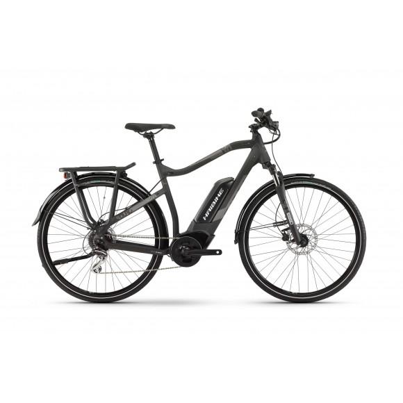 e-bike Haibike SDURO Trekking 1.0 Men 400Wh 8G Acera 2020 BAPI black/titan/grey matt