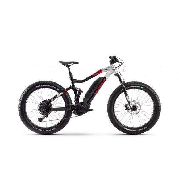 e-bike Haibike XDURO FullFatSix 10.0 500Wh 12G GX Eagle 2020 YX2S black/silver/red matt