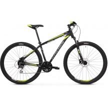 Bicicleta Kross Hexagon 5.0 29 black-graphite-lime-matte 2020