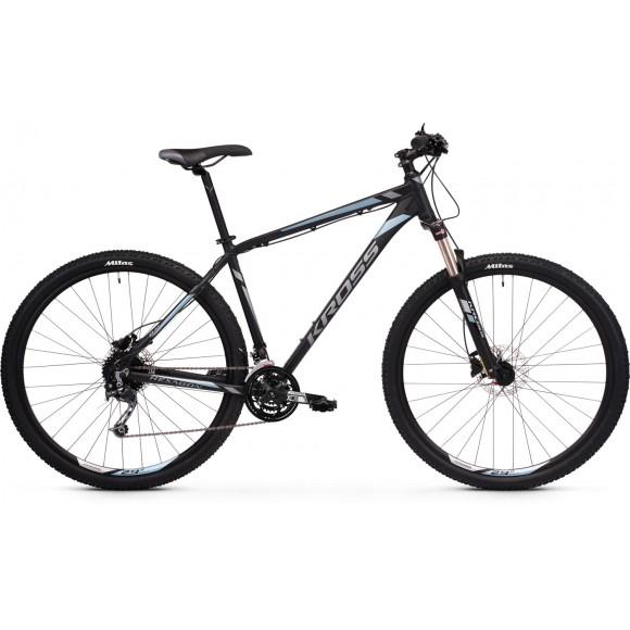 Bicicleta Kross Hexagon 8.0 29 black-graphite-steel-matte 2020