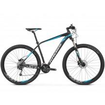Bicicleta Kross Level 4.0 29 black-blue-silver-matte 2020