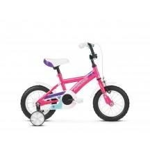 Bicicleta Kross Mini 1.0 12 pink-violet-turquise-glossy 2020