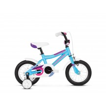 Bicicleta Kross Mini 2.0 12 blue-pink-violet-glossy 2020