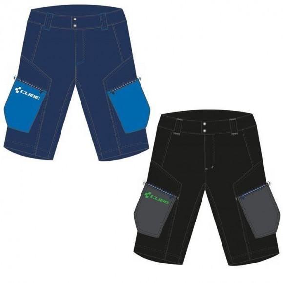 Pantaloni Cube Tour Shorts Albastru