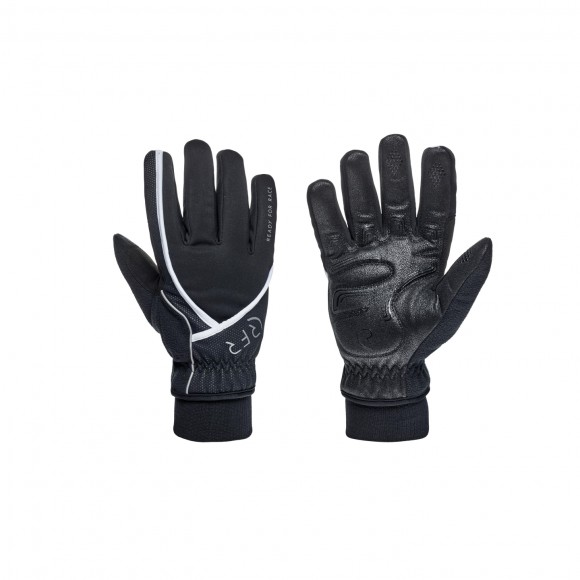 Manusi Rfr Comfort All Season Long Finger Black´n´white L